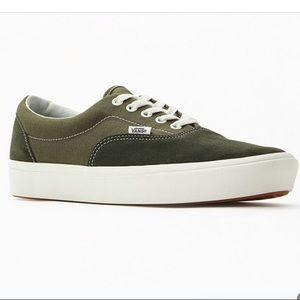 Vans ComfyCush Era Shoes Sneakers Olive Men's